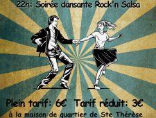Samedi 26 janvier – Soirée Rock'n Salsa