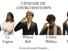 Web-Fiction – L'ENIGME DE CHURCHINSTOWN
