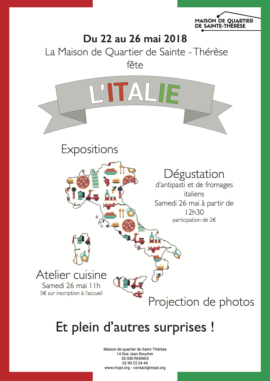 La semaine italienne – Du 22 au 26 mai