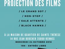Projection des créations de l'atelier court-métrage